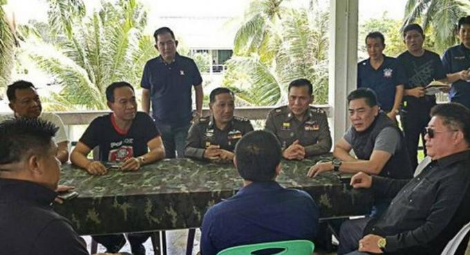 Le cerveau derrière les exécutions de Krabi arrêté a Phuket