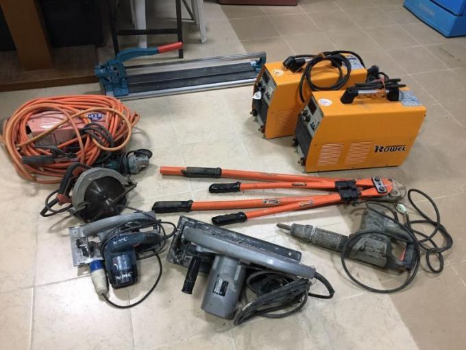 Un homme arrêté avec plus d'1 million de bahts d'objets volés sur des chantiers
