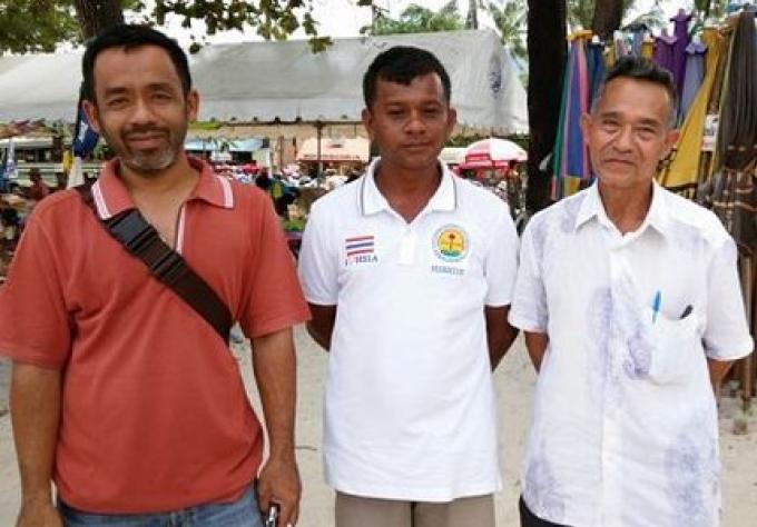 Un représentant du  club vendeurs de Patong,  est catégorique  les vendeurs de plage devraient êt