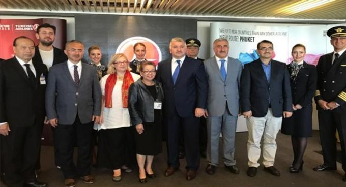 Turkish Airlines annonce des vols directs a destination de Phuket