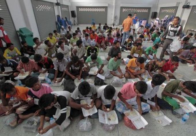 117 migrants questionnés