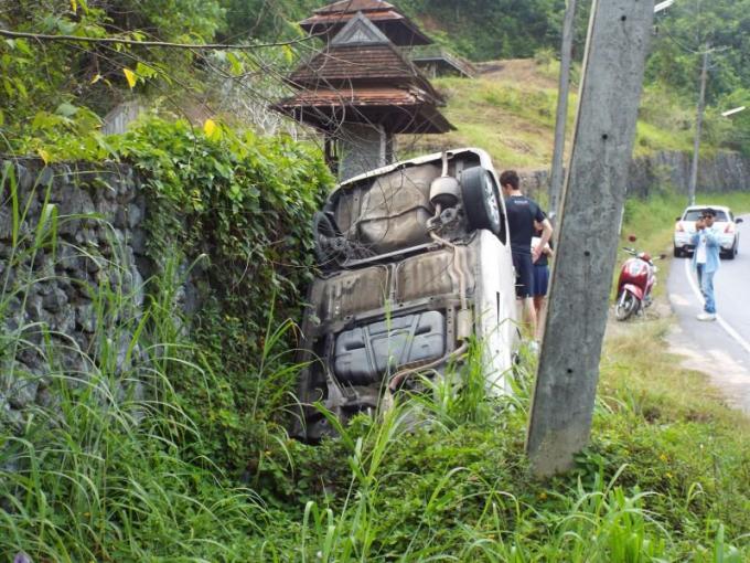 Un professeur et des adolescents indemnes après un accident de la route