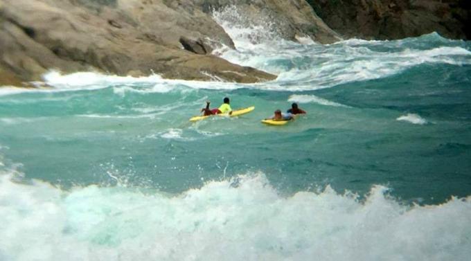 Les sauveteurs répètent leurs avertissements après avoir une nouvelle fois sauvé des touristes p