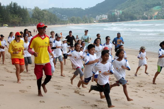 MontAzure accueille le 'Kid's Water Safety Training'