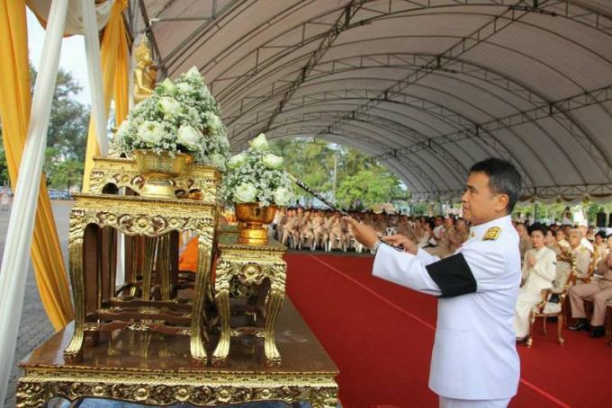 Phuket célèbre le 65eme anniversaire de Sa Majesté le Roi Maha Vajiralongkorn