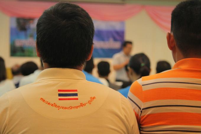 Les chefs nationaux des guides touristiques rassemblent leurs soutiens a Phuket