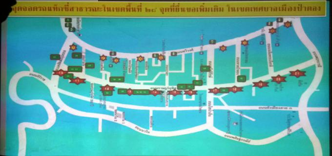Phuket durcit le ton au sujet des places de parking des taxis et tuk-tuks