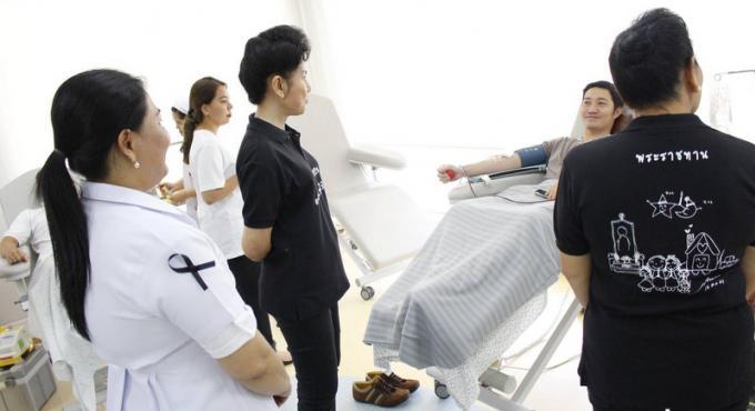 La croix rouge de Phuket cherche des donneurs