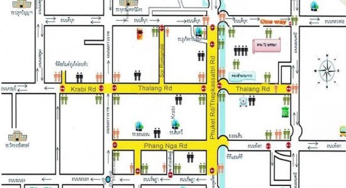 Fermeture des routes pour le Festival de la Vieille Ville de Phuket