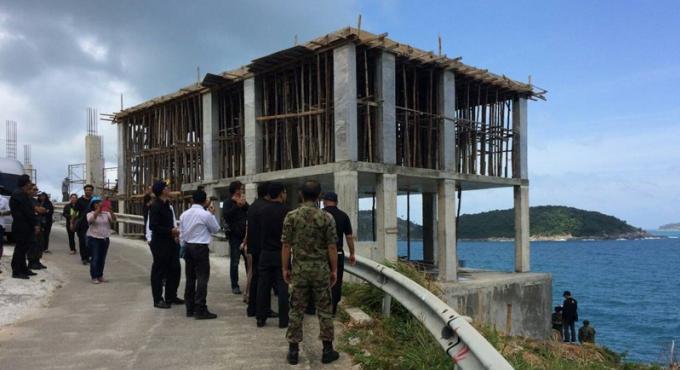 Le projet de construction de Krathing Cape a 30 jours pour revoir ses plans
