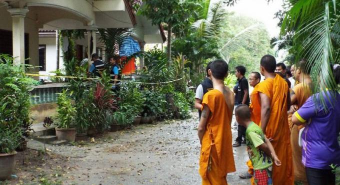 L'assistant d'un moine assassiné  dans un temple de Phuket