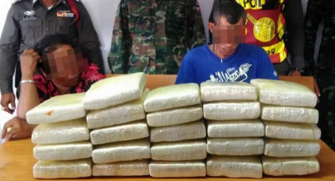 La police de Phuket saisit 23kg de marijuana