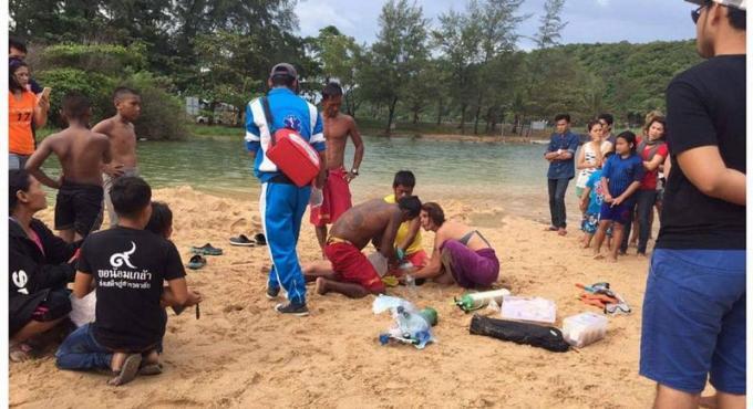 Un garçon de 7 ans ramené a la vie par les sauveteurs