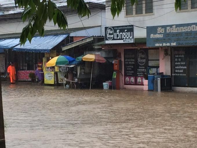 Alerte aux inondations et aux glissements de terrain a Phuket