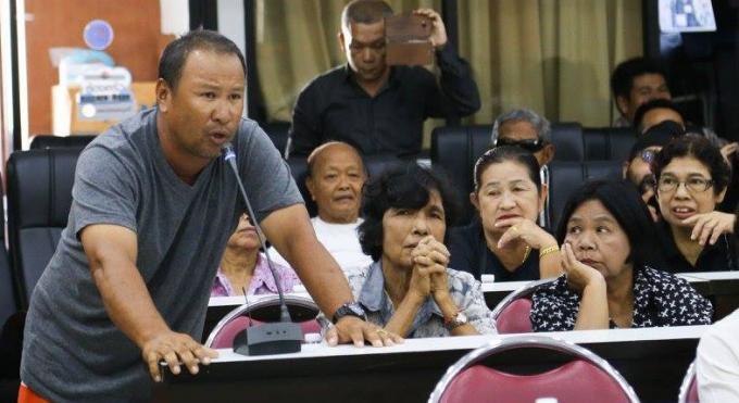 Les habitants de Patong se plaignent d'évictions forcées pour la construction du tunnel
