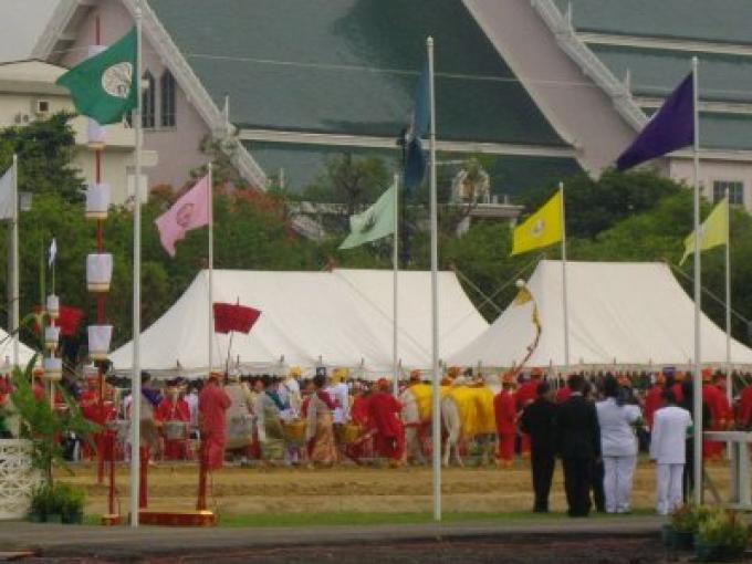 Fête nationale: Wan Phuetcha Mongkhon ou le jour de cérémonie de labourage Royal
