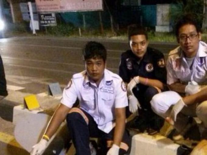 La police de  Phuket souhaiterait connaître l'identité du mystérieux européen tué dans l'accide