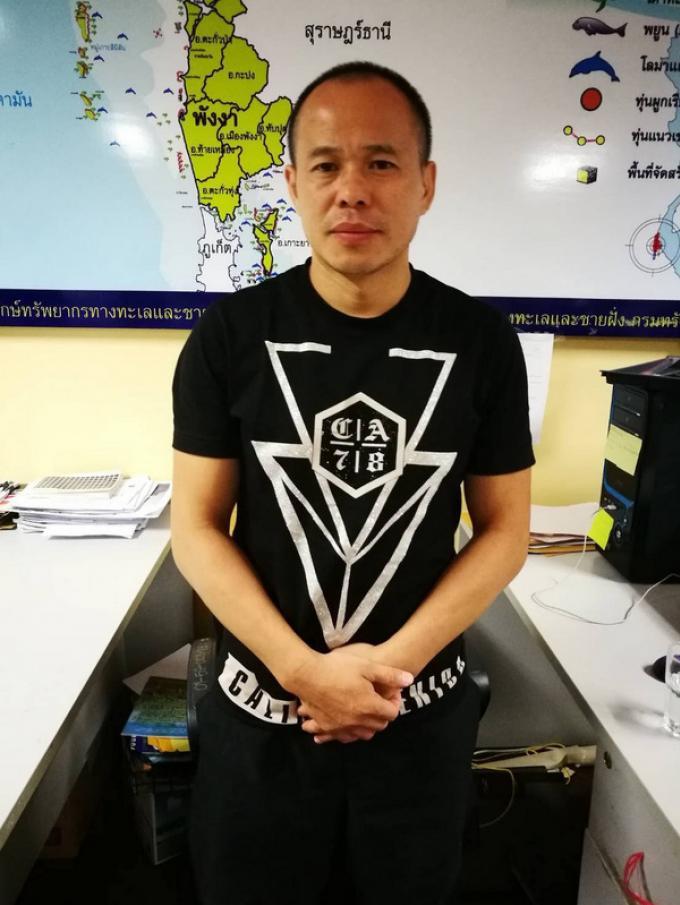 Thaïs et chinois arrêtés pour avoir dérangé des animaux marins sur des coraux de Phuket