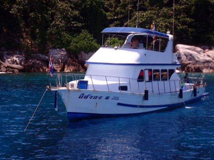 Capitaine et équipage verbalisés pour jeter l'ancre sur des coraux