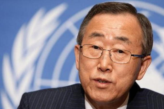 Le chef de l'U.N soutient une rencontre en ce qui concerne les Rohingyas