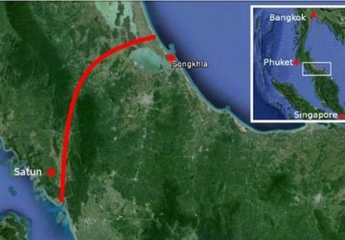 Affaire de signature entre la Chine, et la Thaïlande pour le canal de Kra