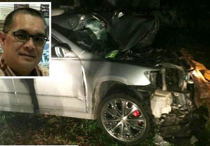 Un journaliste de Phuket meurt dans un accident de voiture à Surat Thani