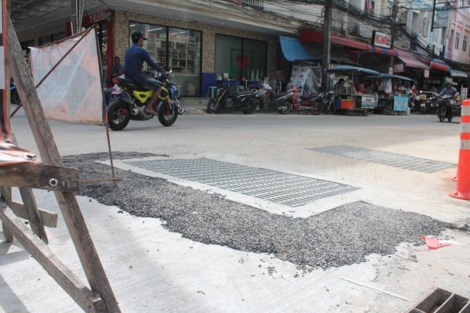 Nouvelles canalisations et moins d'inondations a Nanai Rd