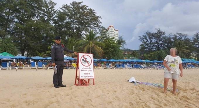 Un touriste britannique de 60 ans se noie a Karon Beach