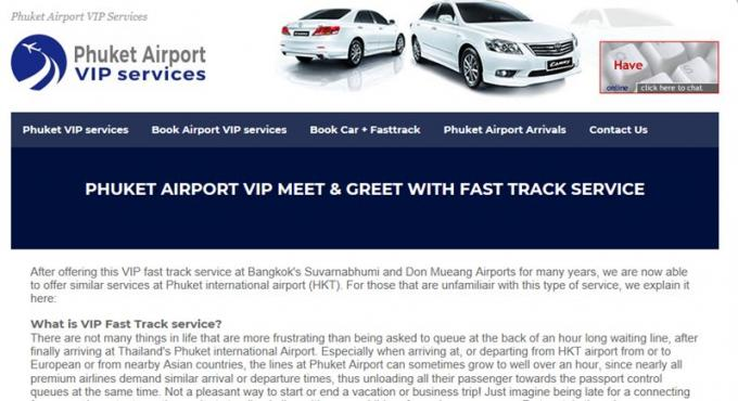 Le 'Fast Track Service' de l'aéroport suspendu après des soupçons d'activités illégales