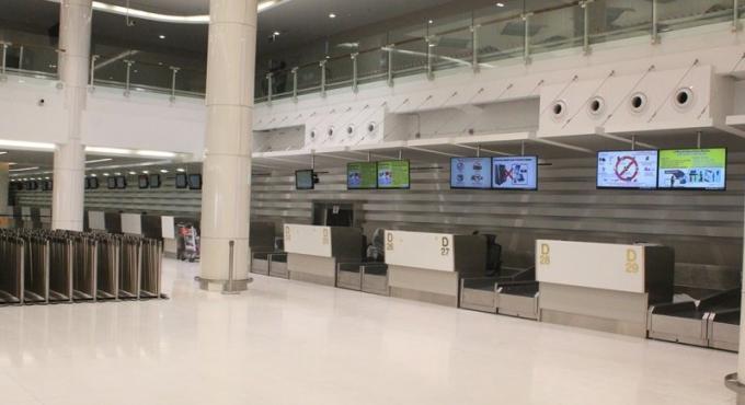 Un terminal national flambant neuf accueillera son premier vol le 28 Novembre