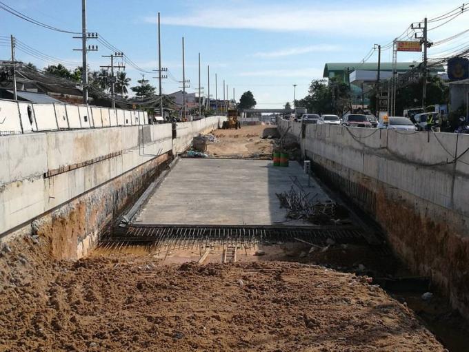 La construction du tunnel de c actualit phuket 4660 for Construction de tunnel