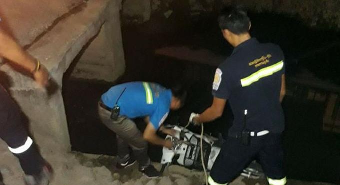 Un thai de 18 ans meurt en fonçant dans un canal