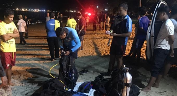 Les secouristes recherchent un ukrainien disparu en mer