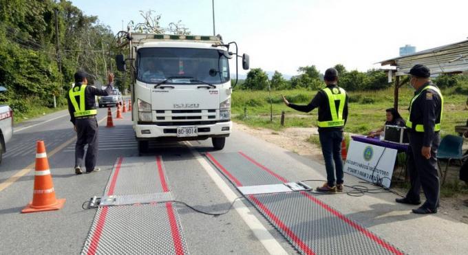 Phuket cible les camions 'mortellement' surchargés