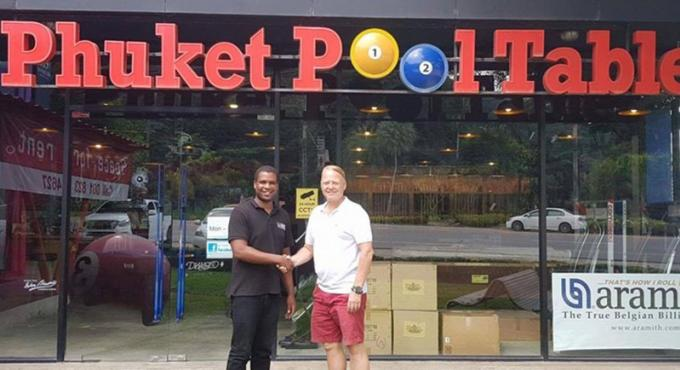 Thailand Pool Tables nouveau sponsor de la Patong Pool League