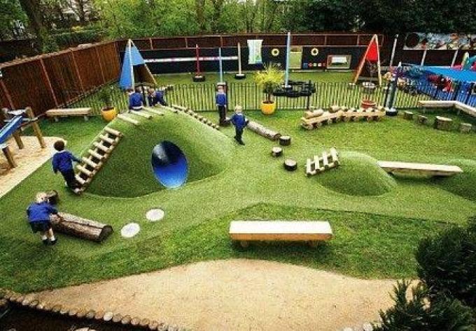 Aménagement du parc de Rawai – Parc avec aires de jeux pour enfants à Rawai.