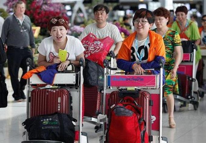 La surtension des arrivées de touristes chinois augmente objectif annuel