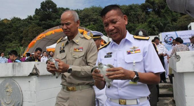 La Marine Royale Thaïe participe à la protection de l'écosystème marin de Phuket