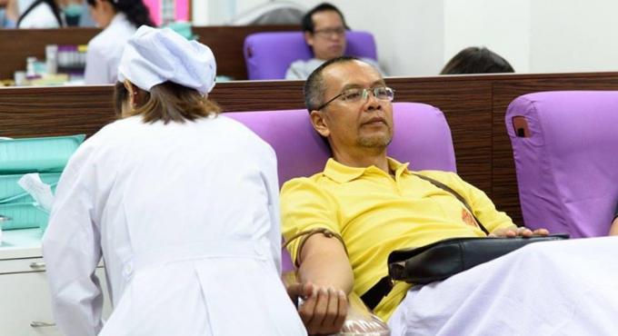Le Centre Régional du Sang de Phuket appelle aux dons de groupe 'A'