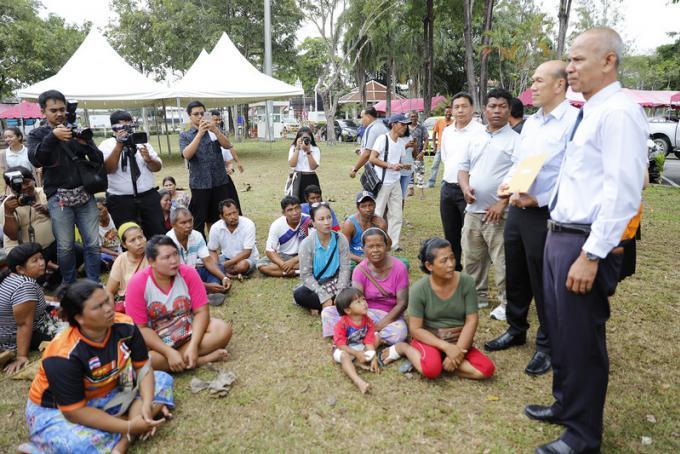 Le maire de Rawai demande de l'équité pour les sea gypsies arrêtés dans le parc national