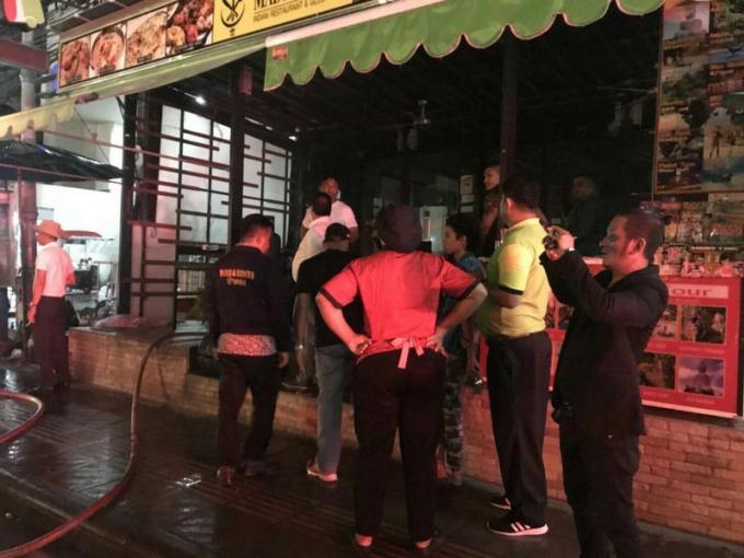 Un restaurant indien de Patong sauvé des flammes
