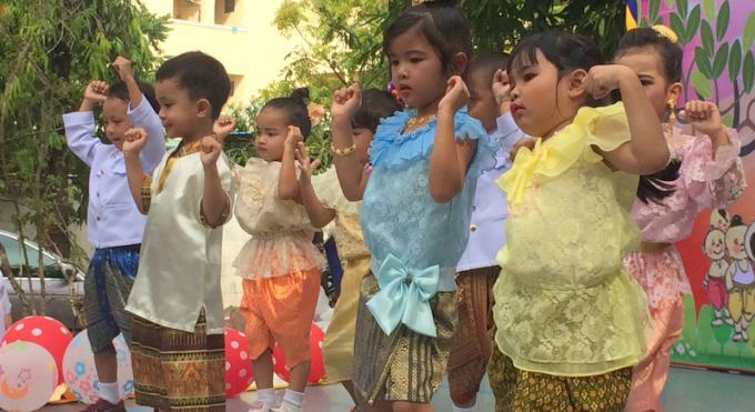 Les enfants célèbrent le Children's Day 2018 en avance