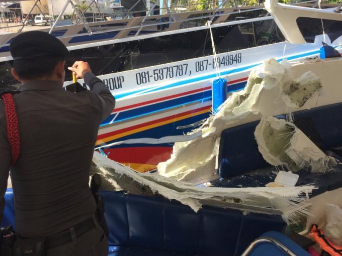 La vitesse, principale raison de la collision des speedboats
