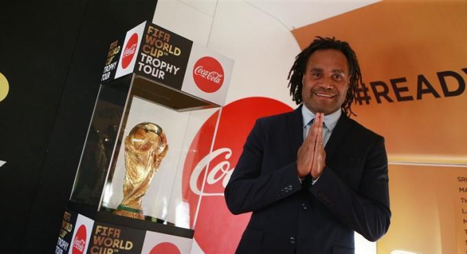 Le '2018 FIFA World Cup Trophy Tour by Coca-Cola' à Phuket