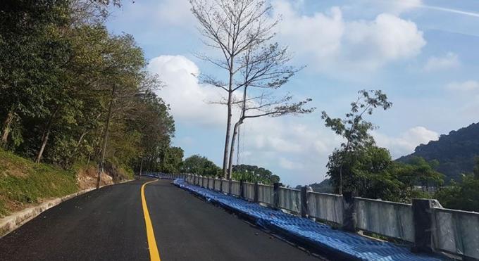 Khaw Sim Bee Rd réouverte à la circulation
