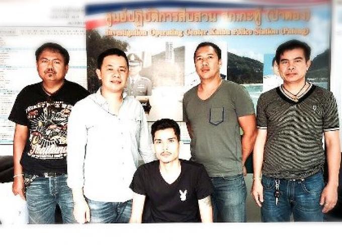 Le complice recherché pour assassinat arrêté au centre commercial de Patong