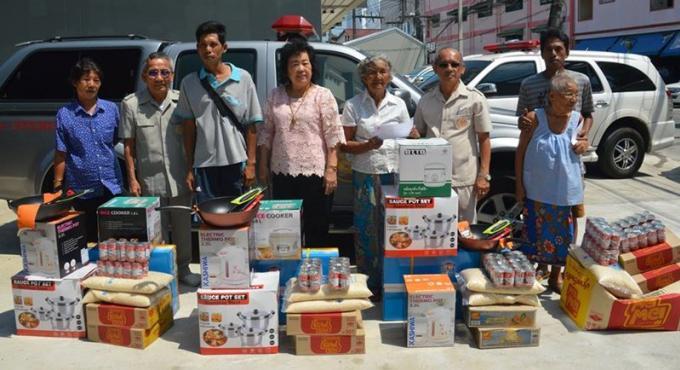 Des dons pour les sinistrés des incendies