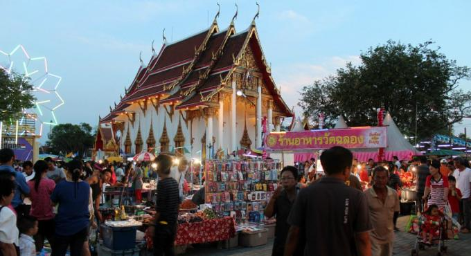 Wat Chalong Fair
