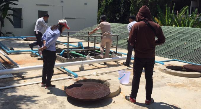 Eaux usées, début de la campagne d'inspection des hôtels de Patong