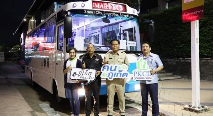 Le PLTO valide les Phuket Smart Bus